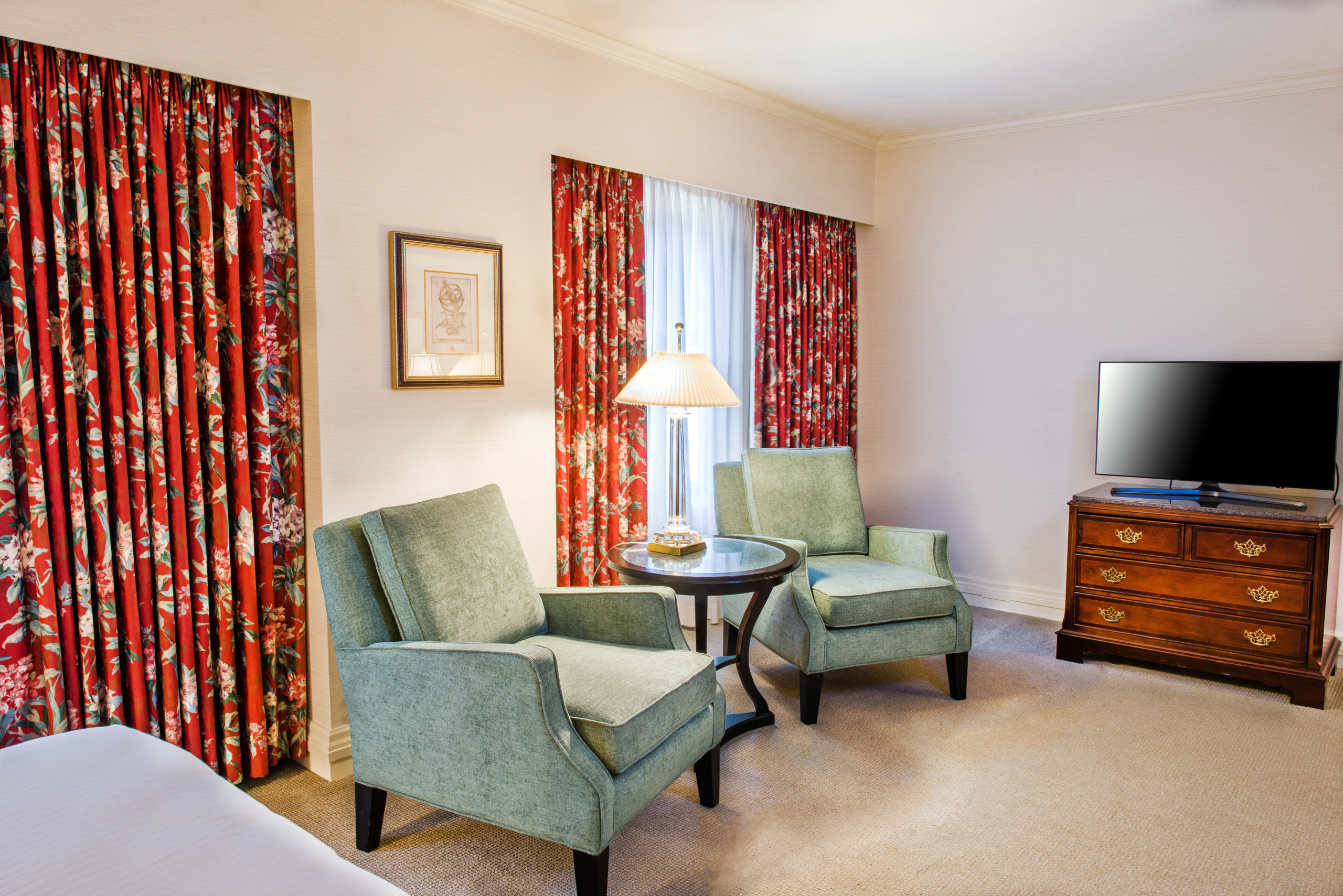 Accessible Room Sitting Area