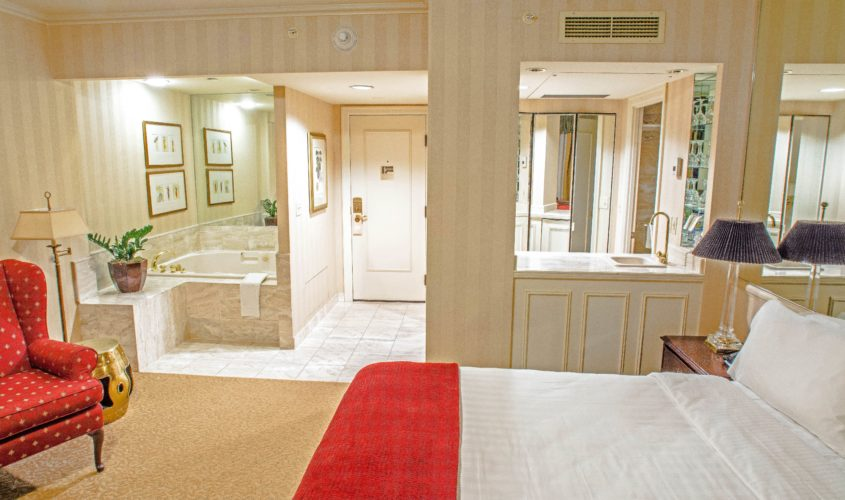 Spa King Guest Room